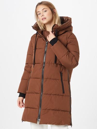 Rich & Royal Winter Coat in Brown, View model