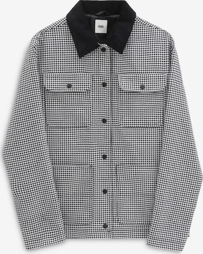 VANS Jacke 'Drill Chore' in schwarz / weiß, Produktansicht