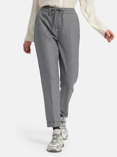 Basler Hose in graumeliert, Modelansicht