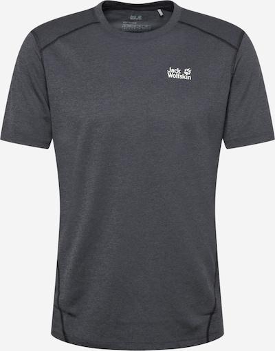 Tricou 'SKY RANGE' JACK WOLFSKIN pe negru / alb, Vizualizare produs
