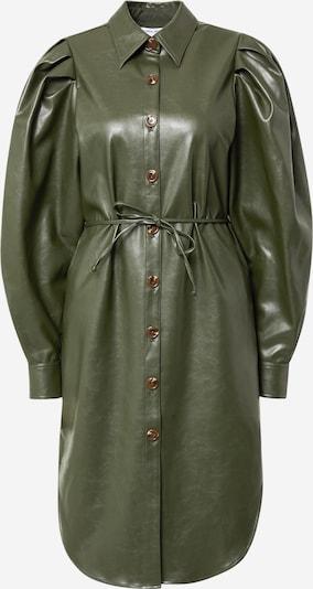 Designers Remix Skjortklänning 'Marie' i oliv, Produktvy