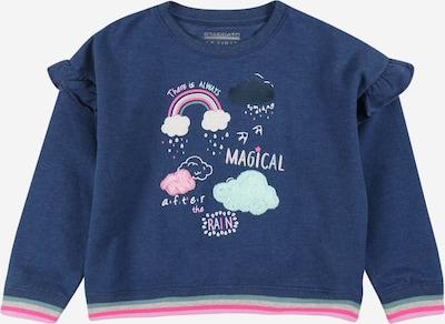 STACCATO Sweatshirt in indigo / azur / hellpink / weiß, Produktansicht
