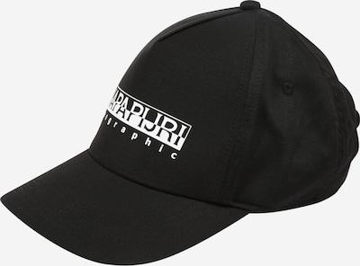 NAPAPIJRI Cap 'FRAMING 2' in schwarz / weiß, Produktansicht