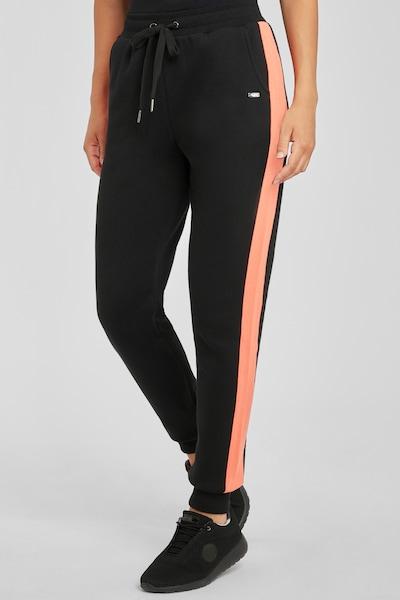 BUFFALO Hose in orange / schwarz / weiß, Modelansicht