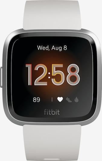 FitBit Digitaluhr in weiß, Produktansicht