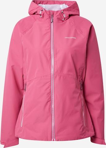 rožinė CRAGHOPPERS Laisvalaikio striukė 'Salina'
