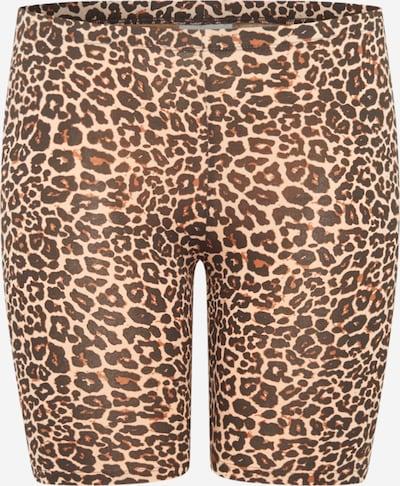 ONLY Carmakoma Leggings 'TIME' en marrón / marrón claro / negro, Vista del producto
