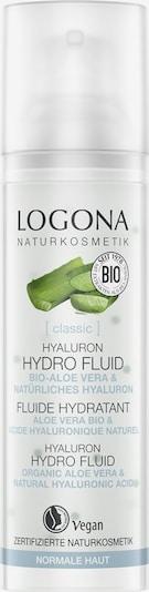 Logona Gesichtspflege 'Hyaluron Hydro Fluid' in transparent, Produktansicht