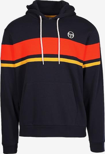 Sergio Tacchini Kapuzenpullover 'Foshan' Hoodie Sweater in blau / gelb / rot, Produktansicht