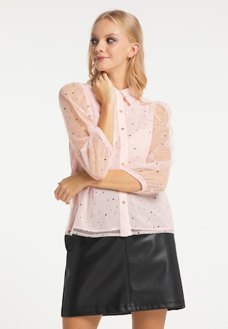 myMo at night Bluse in Pink