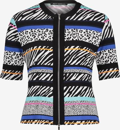 Betty Barclay Shirtjacke mit Streifen in blau / schwarz: Frontalansicht