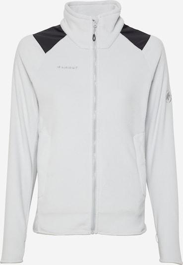 MAMMUT Bluza polarowa funkcyjna w kolorze jasnoszary / czarnym, Podgląd produktu