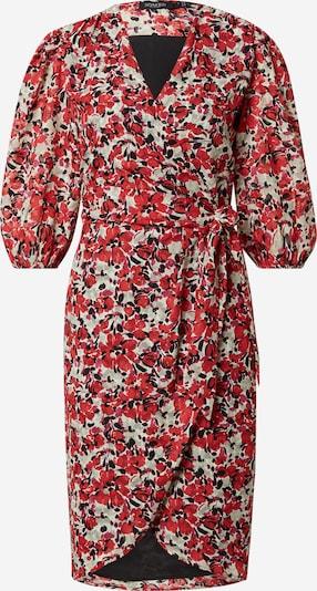 SOAKED IN LUXURY Robe 'Melrose' en gris clair / rose / rouge / noir, Vue avec produit