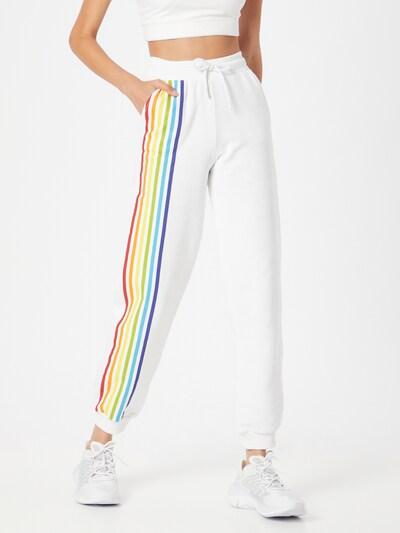NU-IN Hose in mischfarben / weiß, Modelansicht