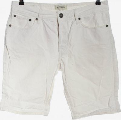 JACK & JONES Hot Pants in S in weiß, Produktansicht