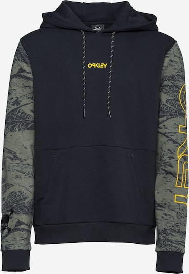 OAKLEY Sportiska tipa džemperis haki / oranžs / melns, Preces skats