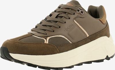 BJÖRN BORG Sneakers ' R1300 NYL MET ' in Taupe / Khaki, Item view