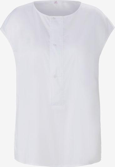 Emilia Lay Blouse in de kleur Wit, Productweergave