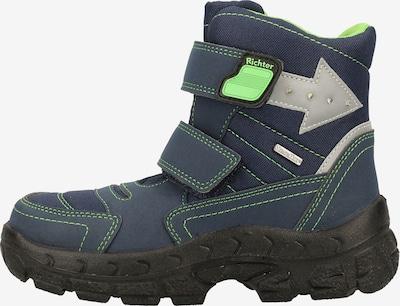 RICHTER Laarzen in de kleur Blauw / Groen / Zilver, Productweergave