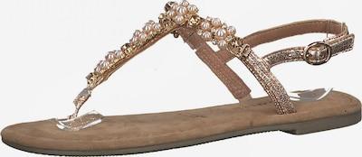 TAMARIS T-bar sandals in Rose gold, Item view