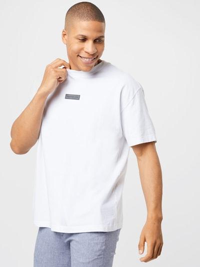 Abercrombie & Fitch T-Shirt en gris / noir / blanc cassé: Vue de face