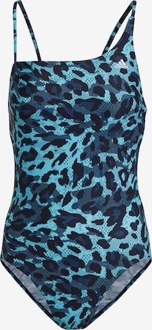 Maillot de bain sport ADIDAS PERFORMANCE en bleu