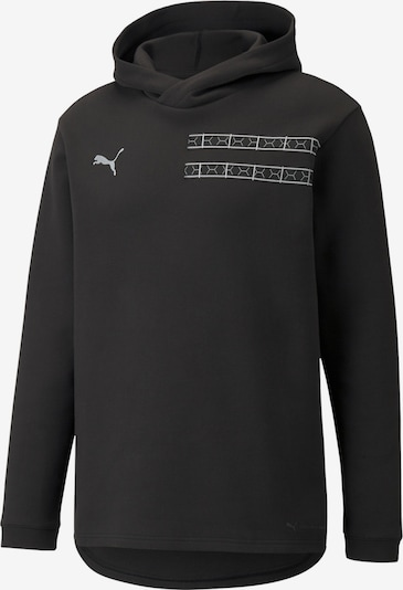 PUMA Sportsweatshirt 'Balr' in de kleur Zwart / Wit, Productweergave