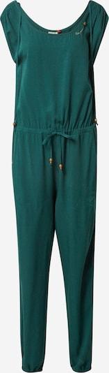 Ragwear Jumpsuit 'NOVEEL' in dunkelgrün, Produktansicht