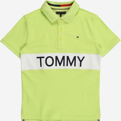 TOMMY HILFIGER Camiseta en limón / negro / blanco, Vista del producto