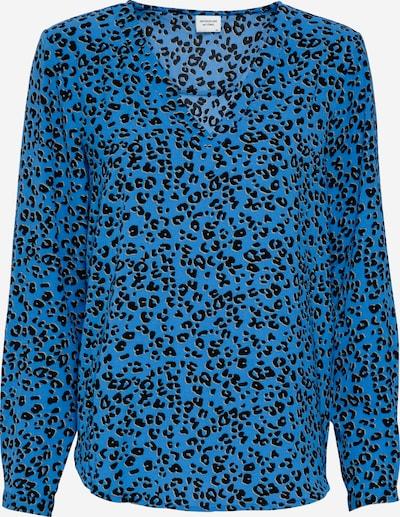 JDY Blouse 'JDYPIPER' in de kleur Blauw / Zwart, Productweergave