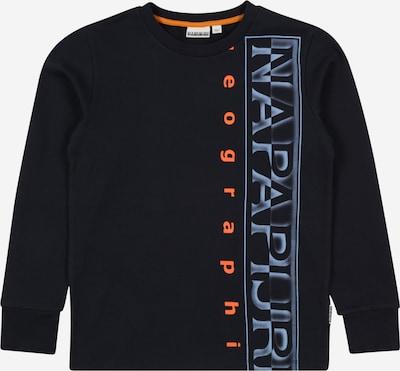 NAPAPIJRI Sweatshirt 'BADYR' in blau / marine / orange, Produktansicht