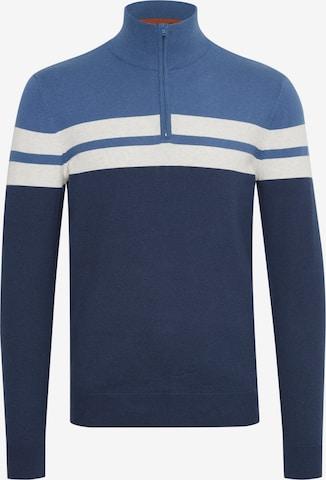 BLEND Pullover 'Naresh' in Blau