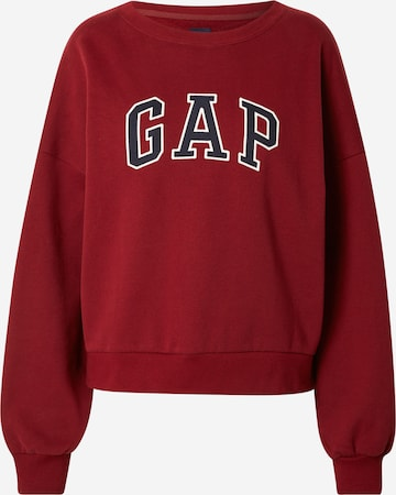 GAP Sweatshirt in Rot