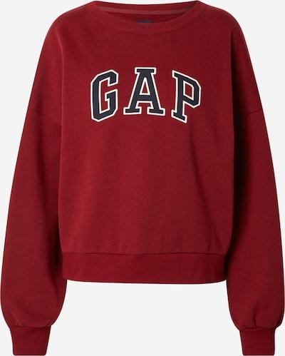 GAP Sweatshirt in Navy / Dark red / White, Item view