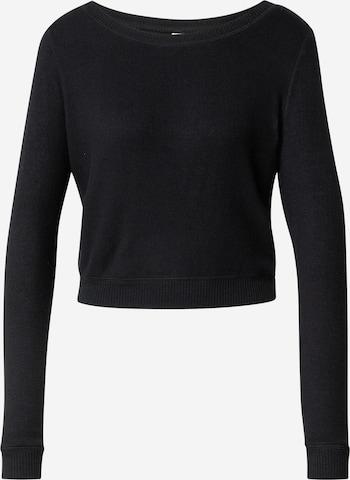 Bluză de noapte 'CALM' de la Dorina pe negru