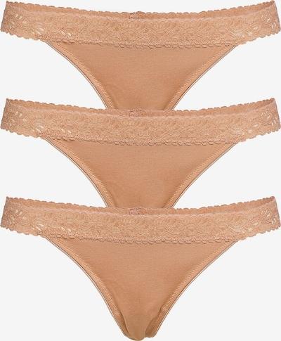 Underprotection String 'Bea' in de kleur Nude, Productweergave