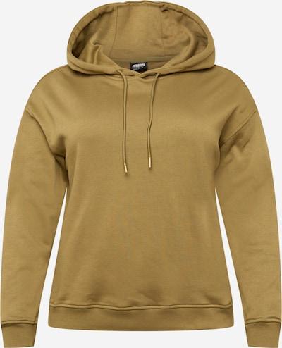 Urban Classics Curvy Sweatshirt in de kleur Olijfgroen, Productweergave