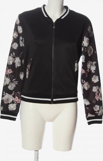 Aiki Keylook Blouson in XL in hellgrau / pink / schwarz, Produktansicht