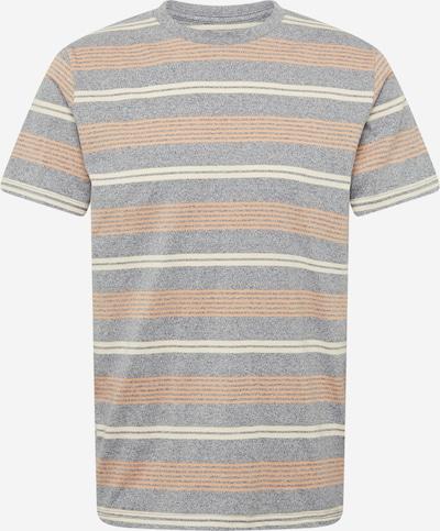 JACK & JONES Shirt 'JORHARVEYS' in creme / opal / pastellorange, Produktansicht
