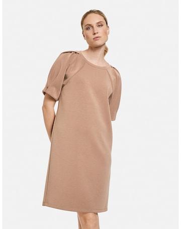 TAIFUN Dress in Beige