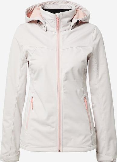 ICEPEAK Outdoor jacket in Light grey / Pink, Item view