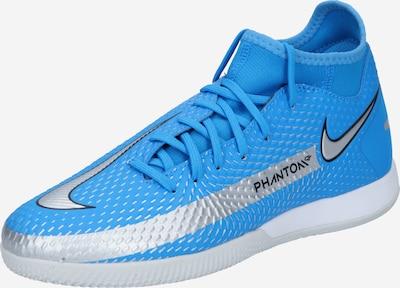 NIKE Chaussure de foot 'Phantom GT Academy' en bleu / argent, Vue avec produit