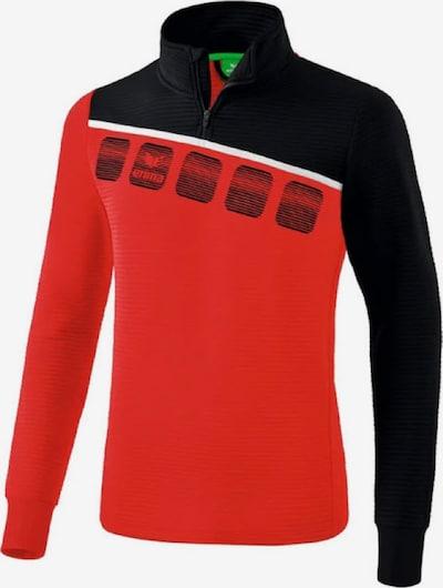 ERIMA Trainingssweatshirt in rot / schwarz / weiß, Produktansicht