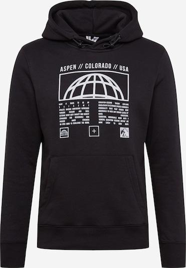 JACK & JONES Sweatshirt 'GLORY' in schwarz / weiß, Produktansicht