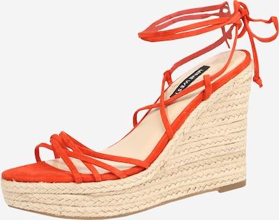 Nine West Páskové sandály 'HAVEFUN' - tmavě oranžová, Produkt
