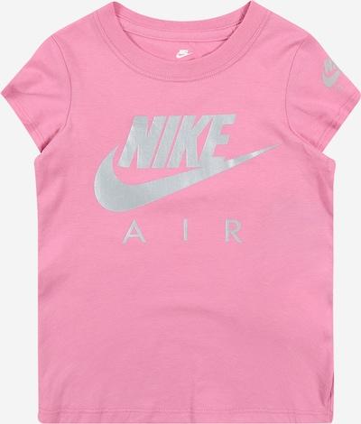 Nike Sportswear Shirt 'FUTURA' in grau / rosa, Produktansicht