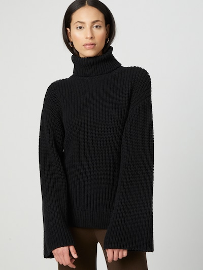 Liz Kaeber Pullover in schwarz, Modelansicht