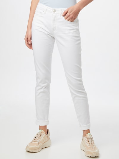 OPUS Jeans 'Elma' in white denim, Modelansicht