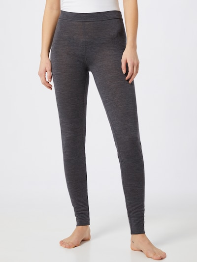 JBS OF DENMARK Leggings en gris foncé / gris chiné, Vue avec modèle