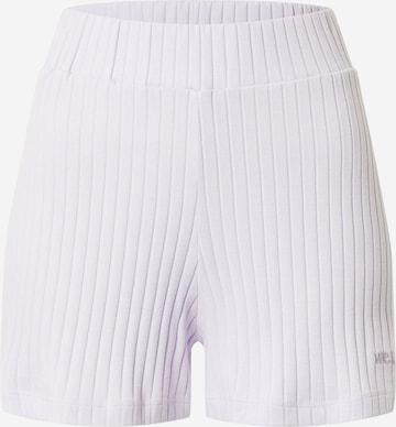 WEARKND Shorts 'Elisa' in Lila